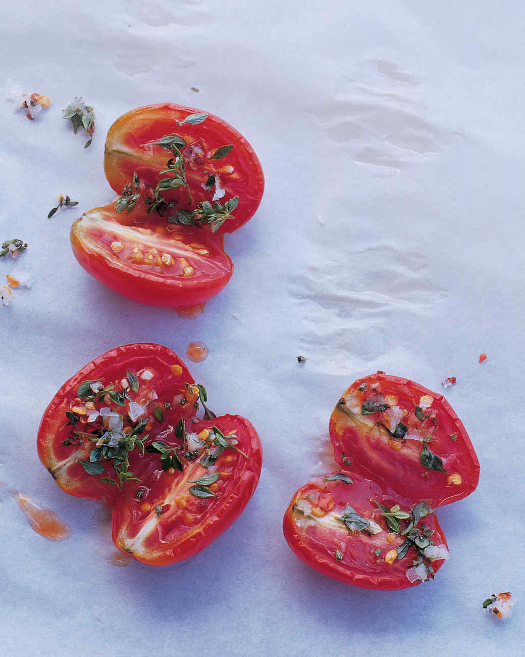 Preserved Tomatoes with Lemon Thyme