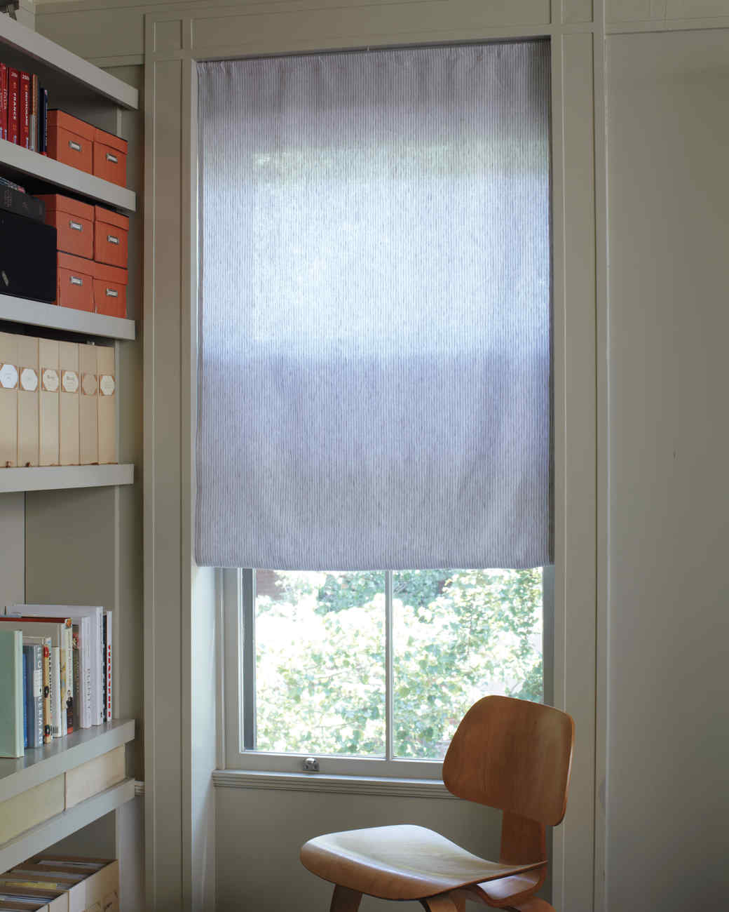 Homemade Window Blinds Ideas Part - 18: DIY Custom Window Shade