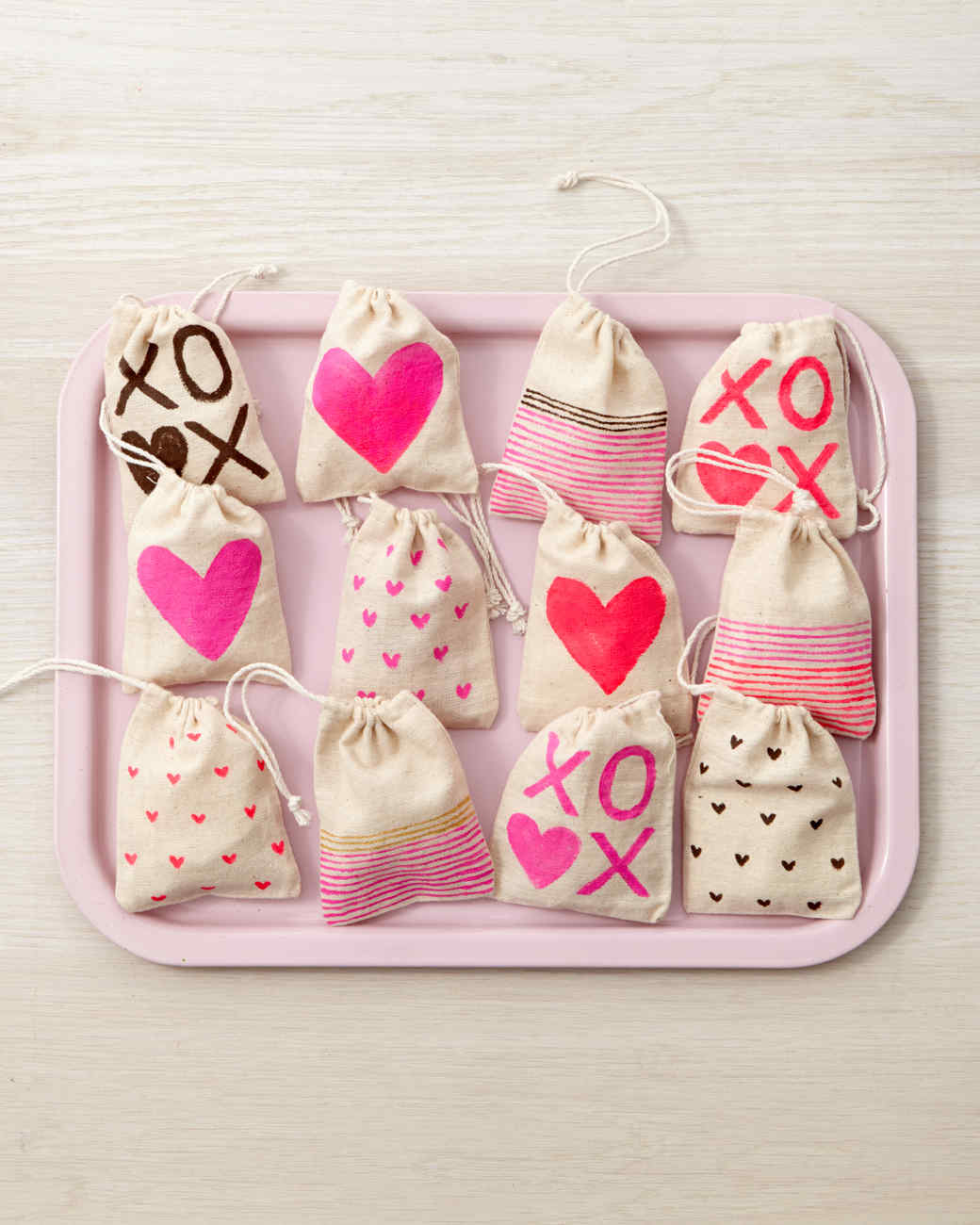 Valentine S Day Treat Bags Martha Stewart