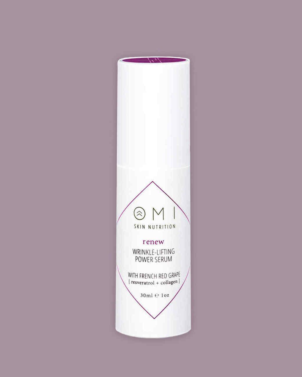 Omi Skin Nutrition renew wrinkle-lifting power serum