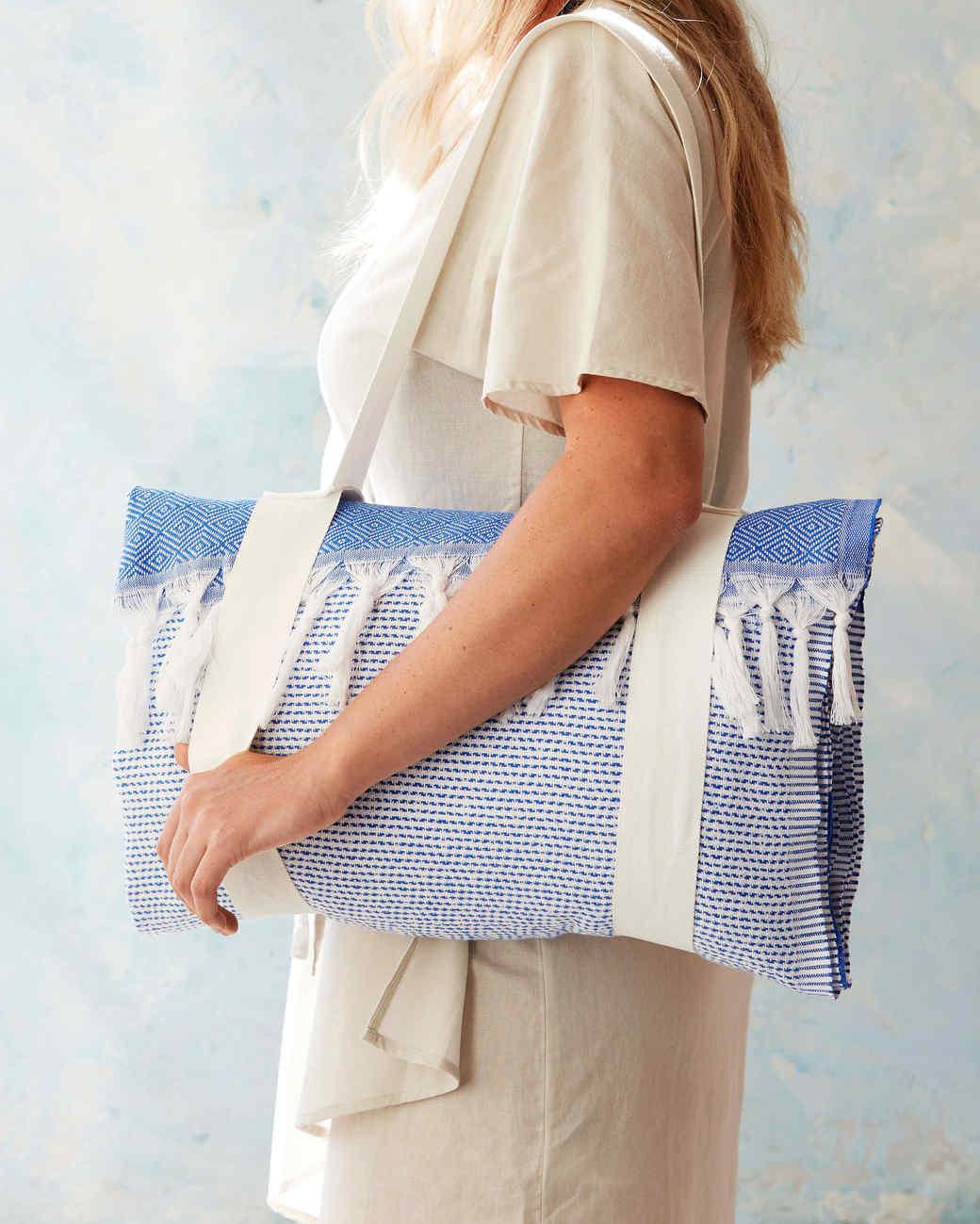 Beach-Towel Tote Bag | Martha Stewart