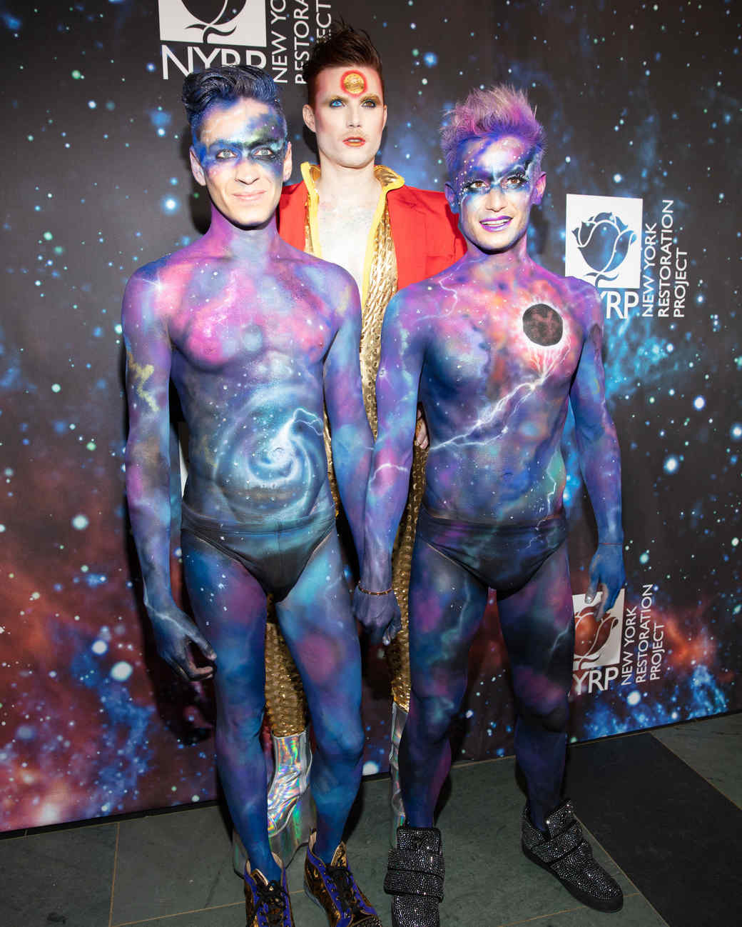 hulaween bette midler halloween costumes galaxy body paint