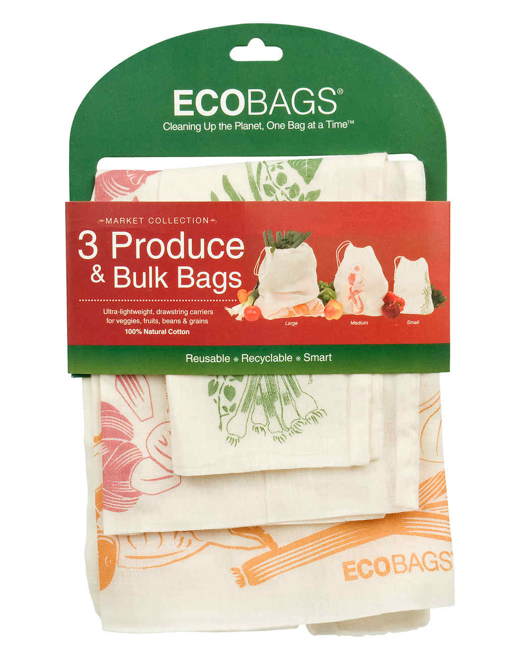 ecobags set of 3 produce bulk