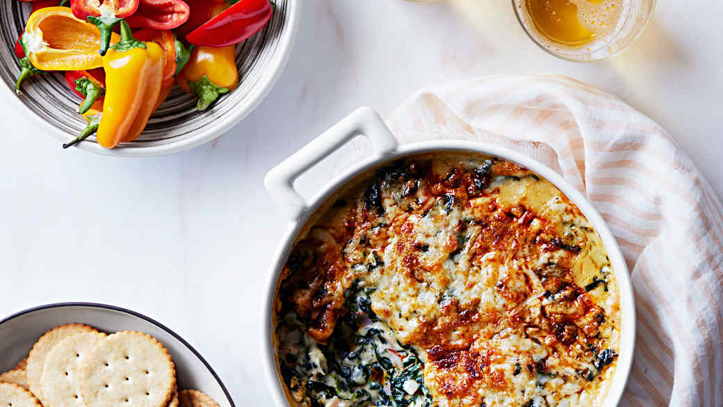 Ham-and-Spinach Dip