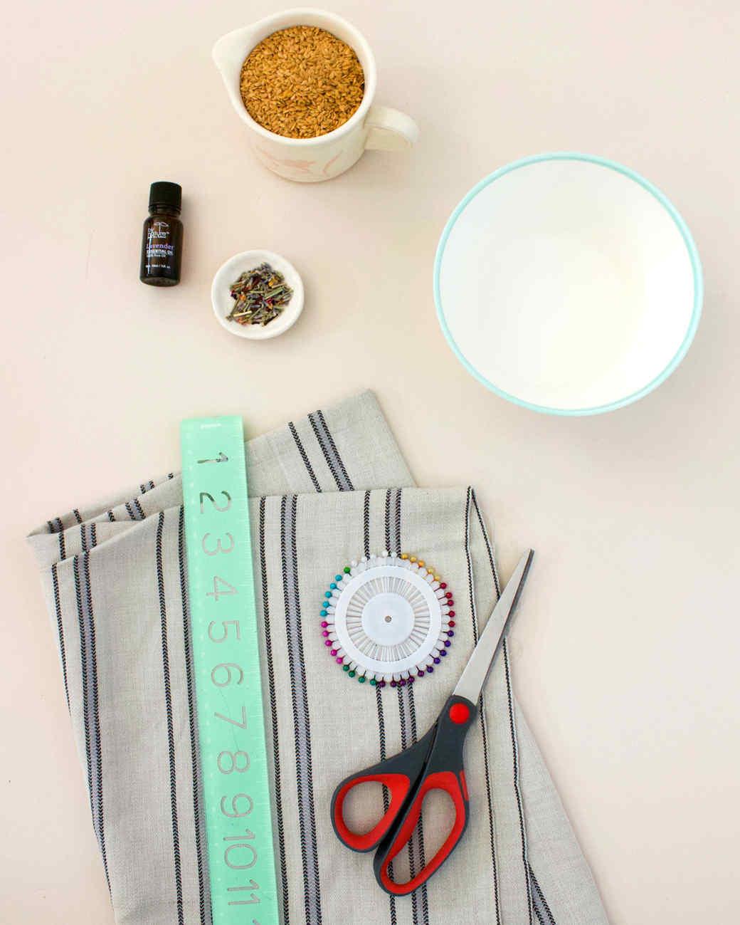 materials for lavender eye pillow