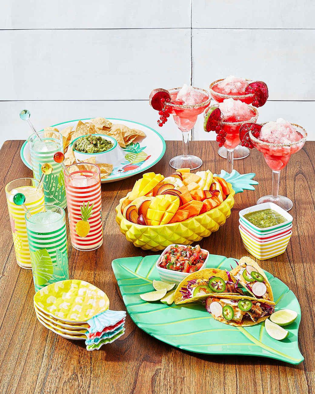 macys fiesta dishware glassware