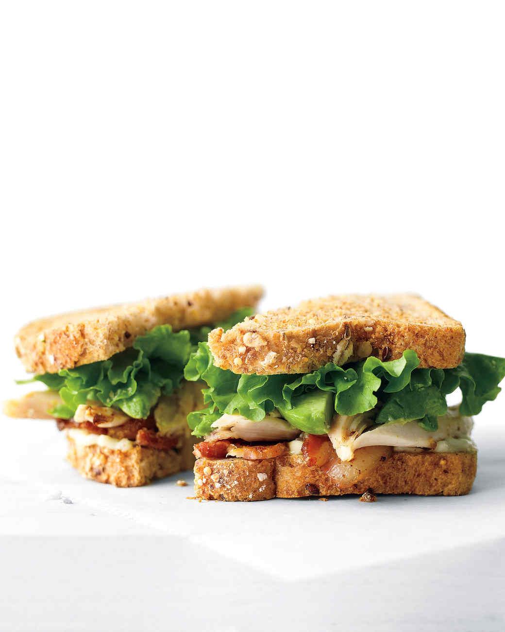Chicken, Avocado, and Bacon Sandwich