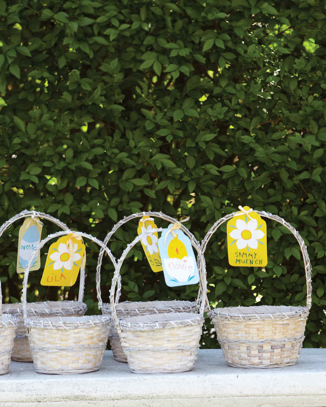 Easter Basket Tags