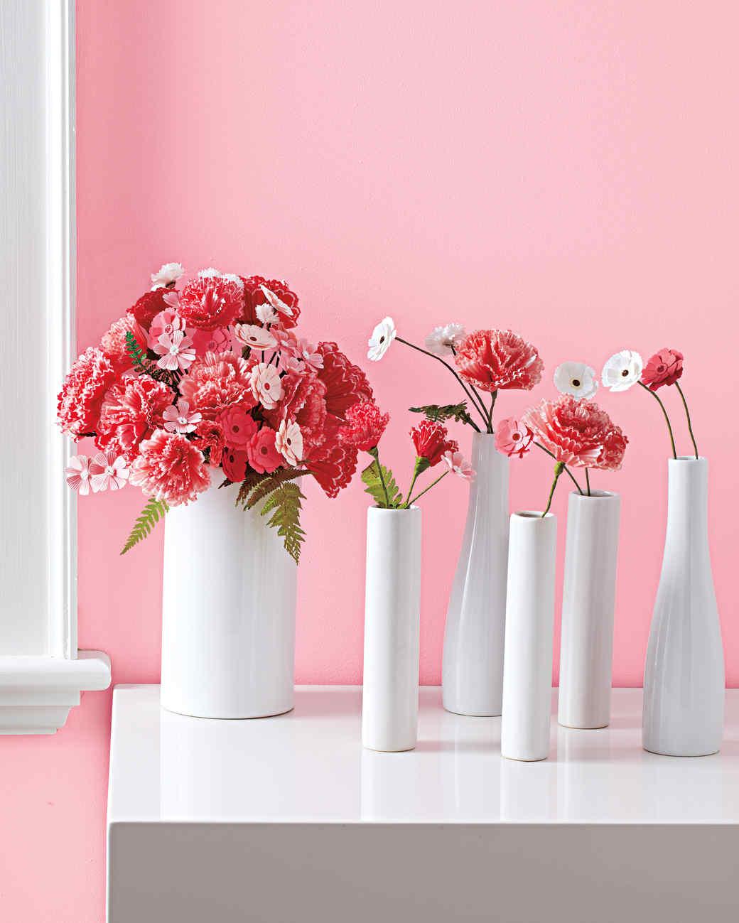 Paper Flower Bouquet Best Pcslot Mini Silk Artificial Rose Bouquet