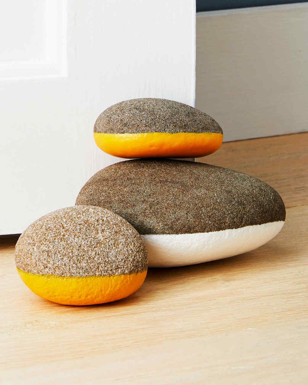 Rubber-Coated Rock Doorstop