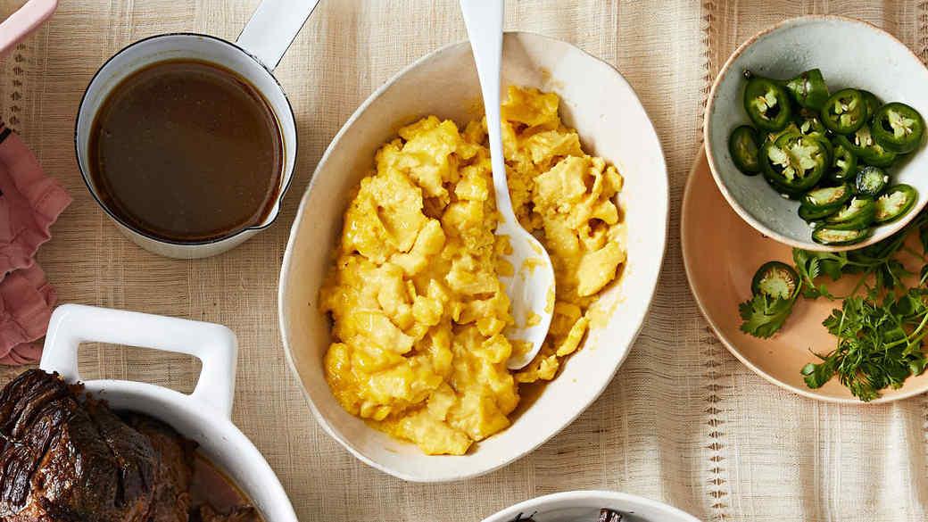 slow scrambled eggs