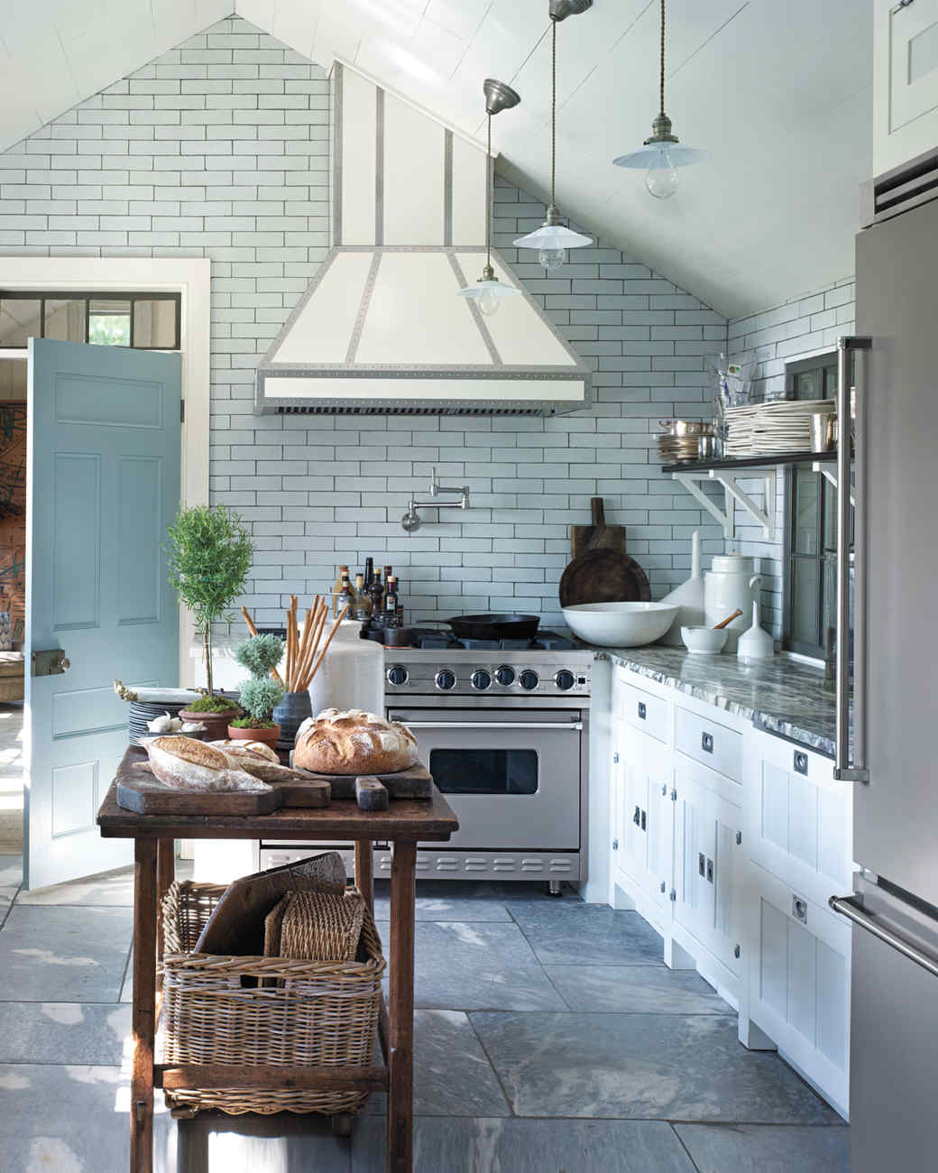 A Rustic Revelation: 8 Creative Country Kitchen Ideas | Martha Stewart
