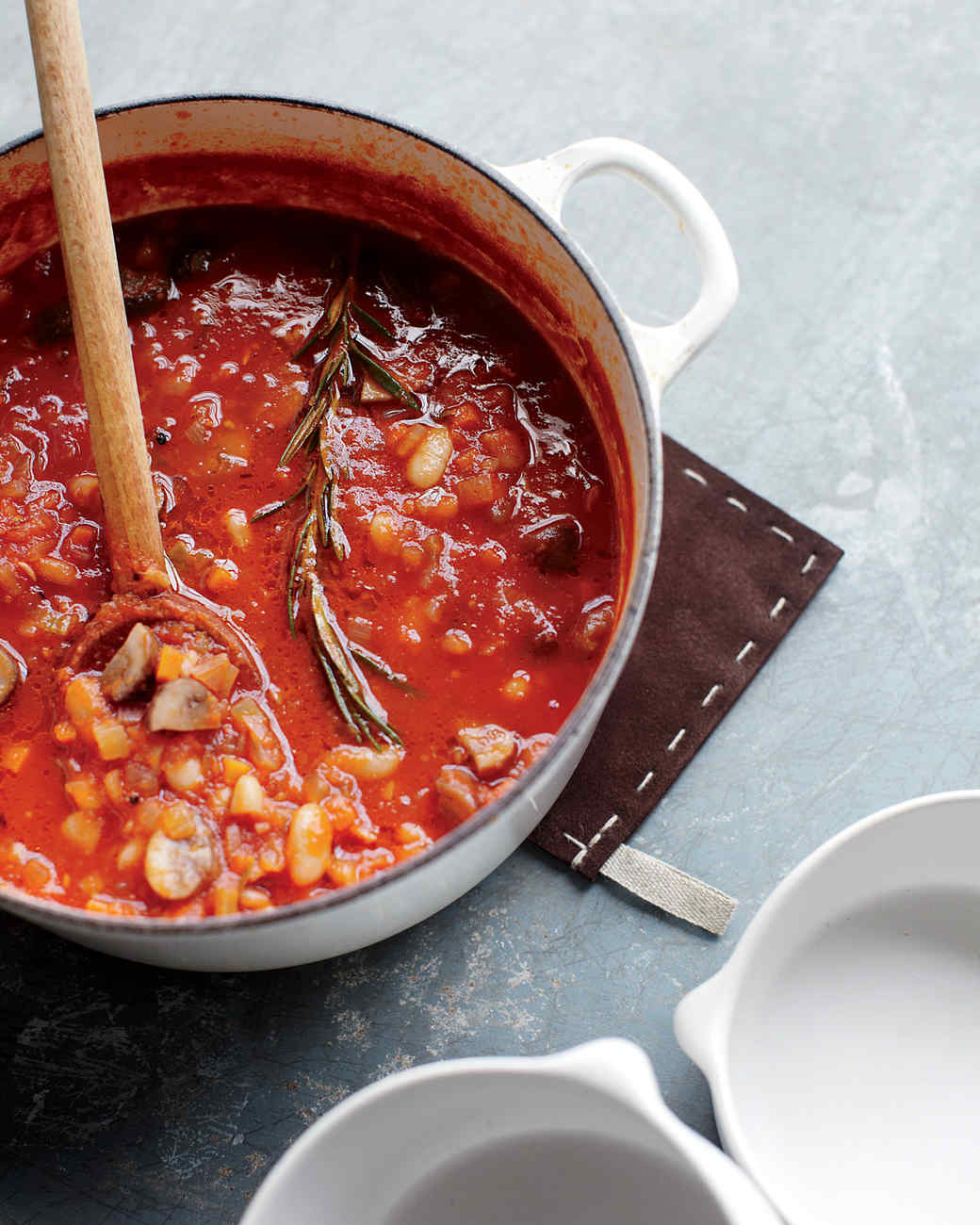 White Bean and Mushroom Stew