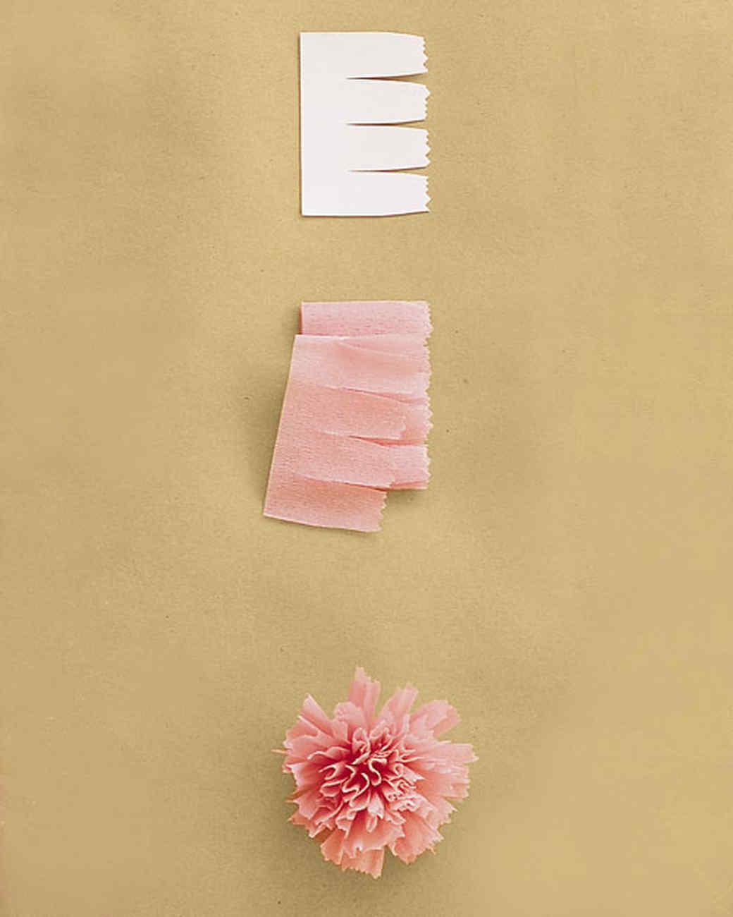 How To Make Crepe Paper Flowers Martha Stewart