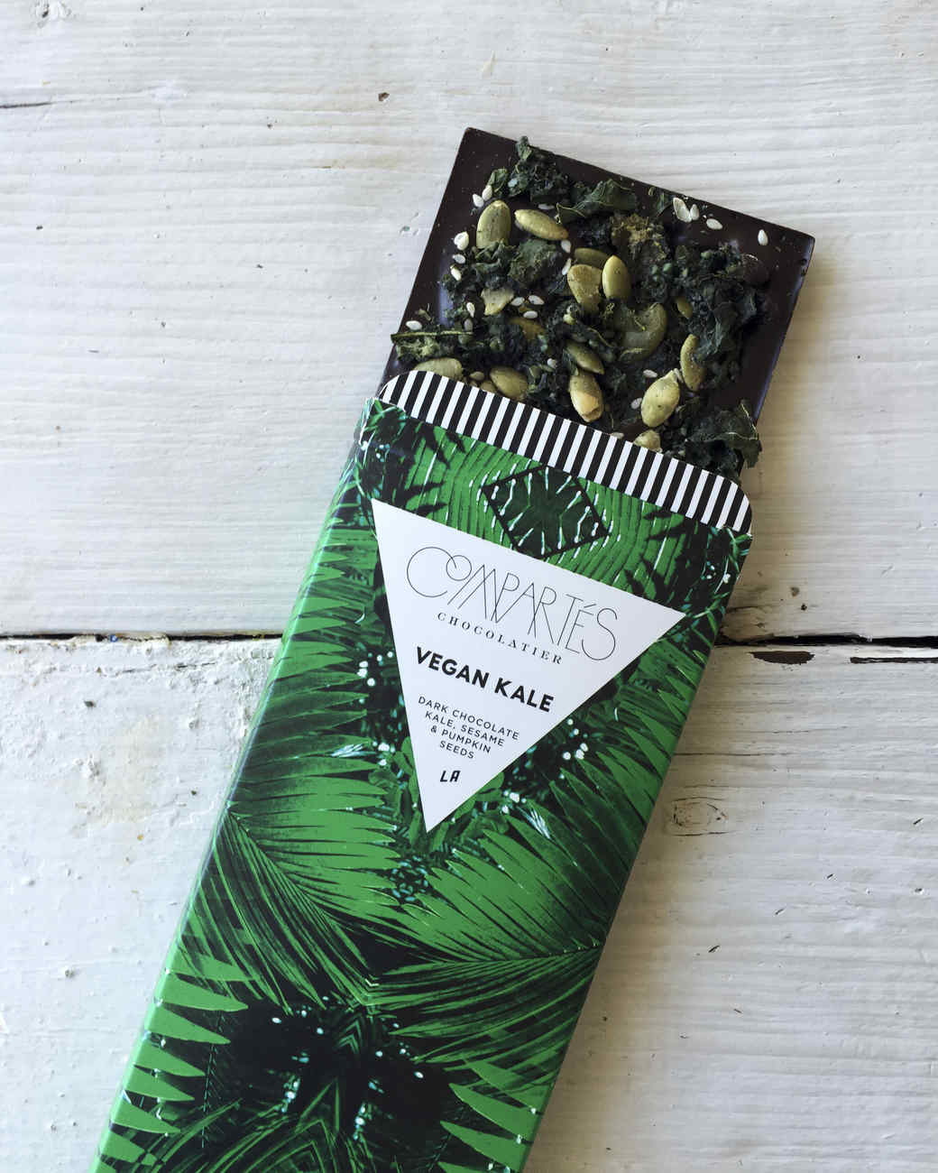 kale chocolate compartes