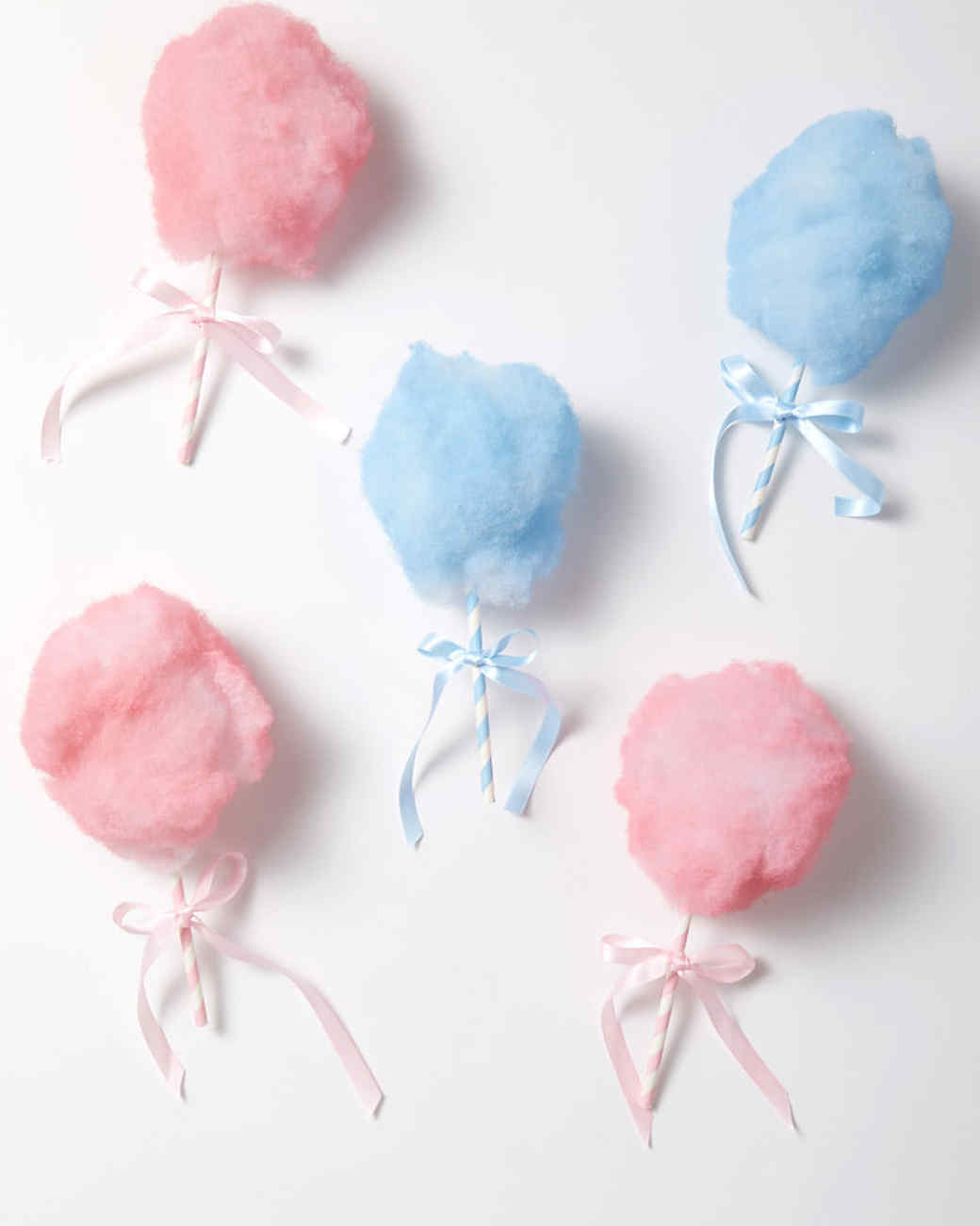cotton candy ornaments