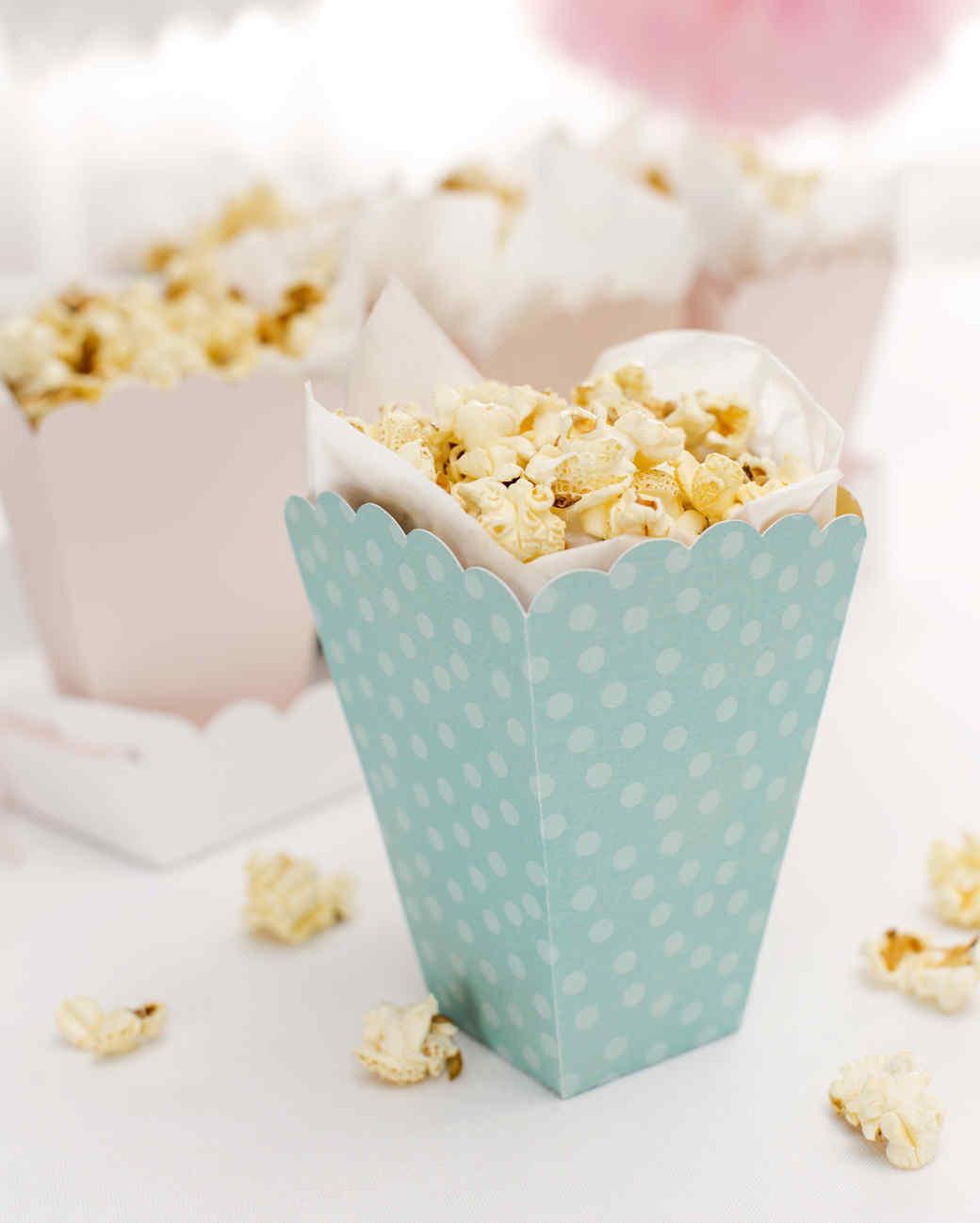 cricut colorful paper popcorn boxes