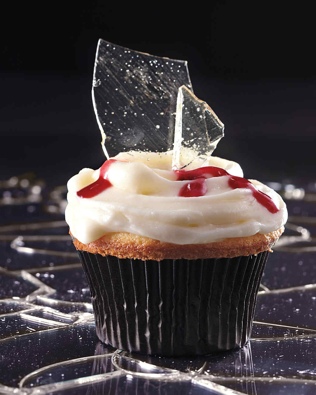 broken glass cupcakes - Martha Stewart Halloween Cakes