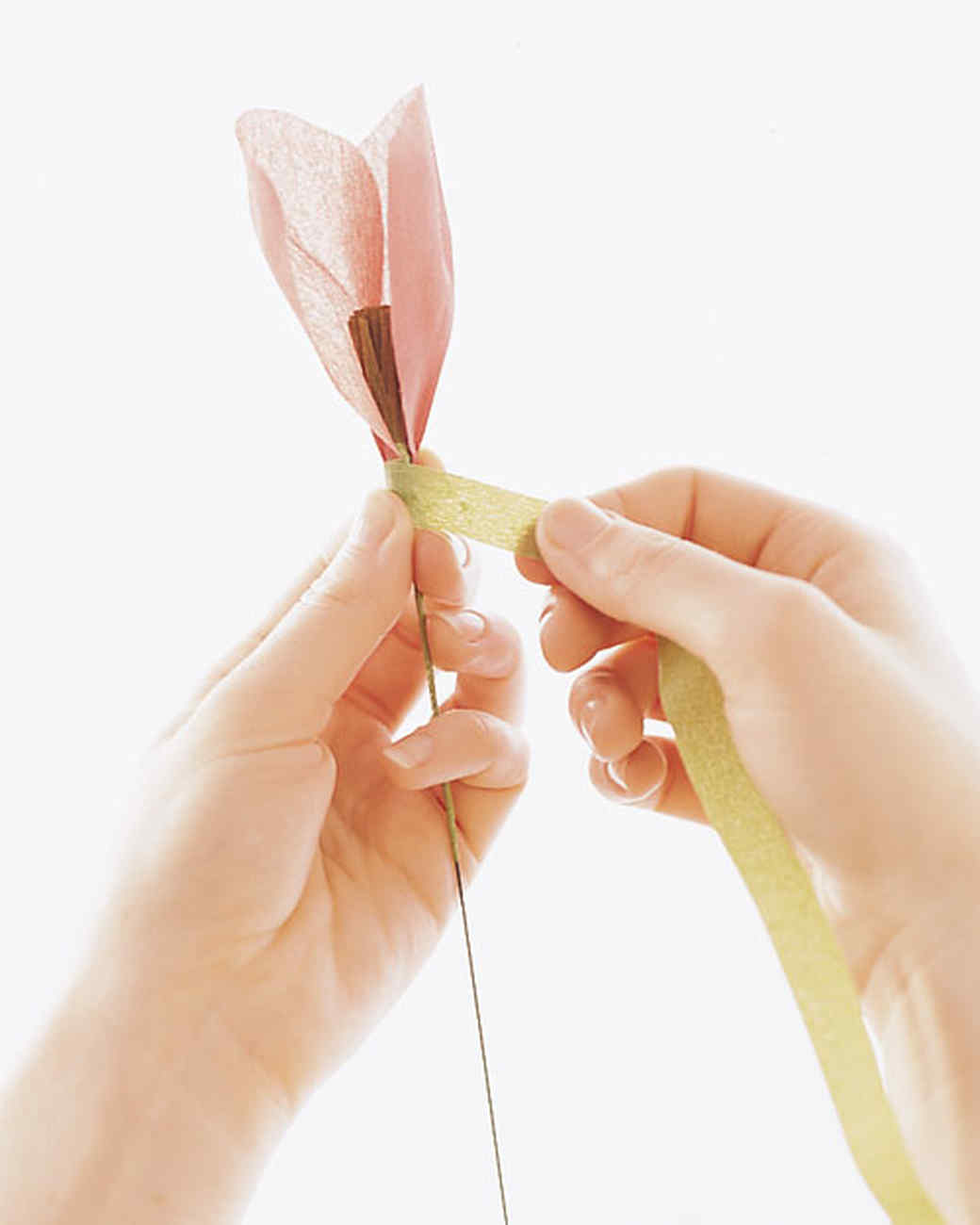 How to make crepe paper flowers martha stewart mightylinksfo Choice Image