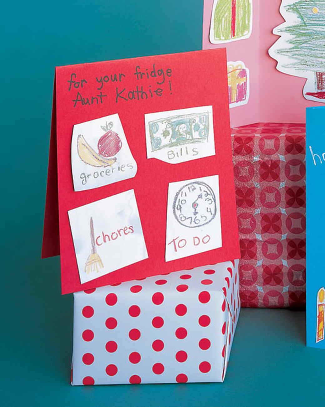 Grandparent homemade christmas gift ideas