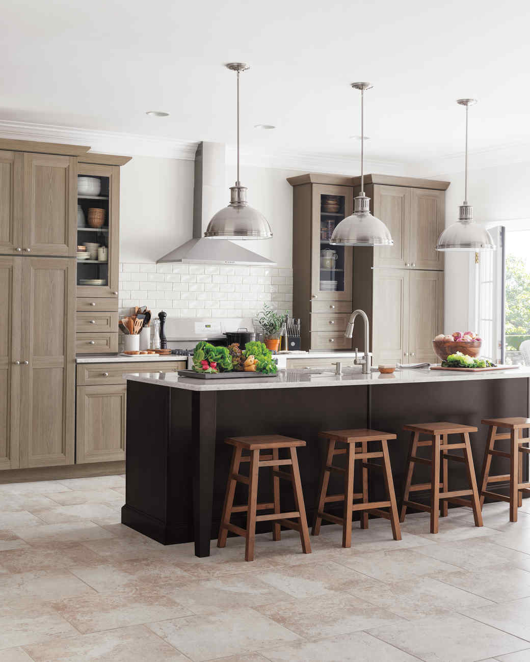Modern: Martha Stewart Living Tipton Kitchen