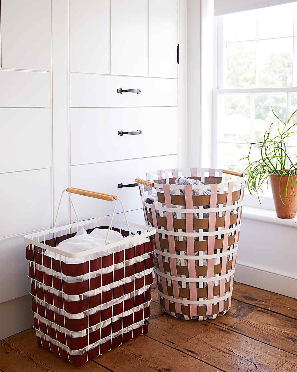 woven laundry hampers