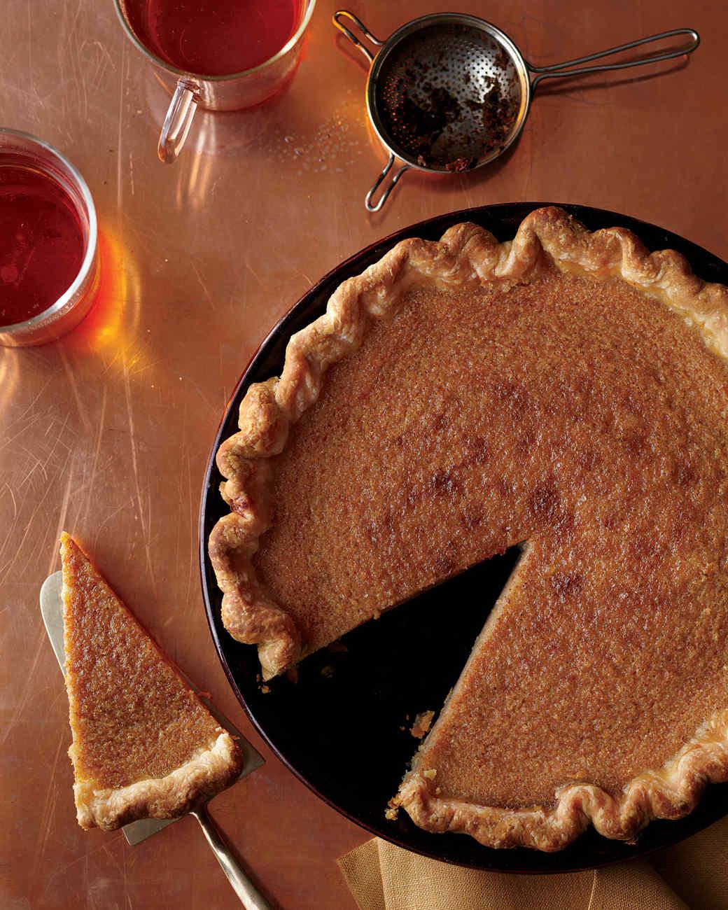 Brown-Sugar Buttermilk Pie
