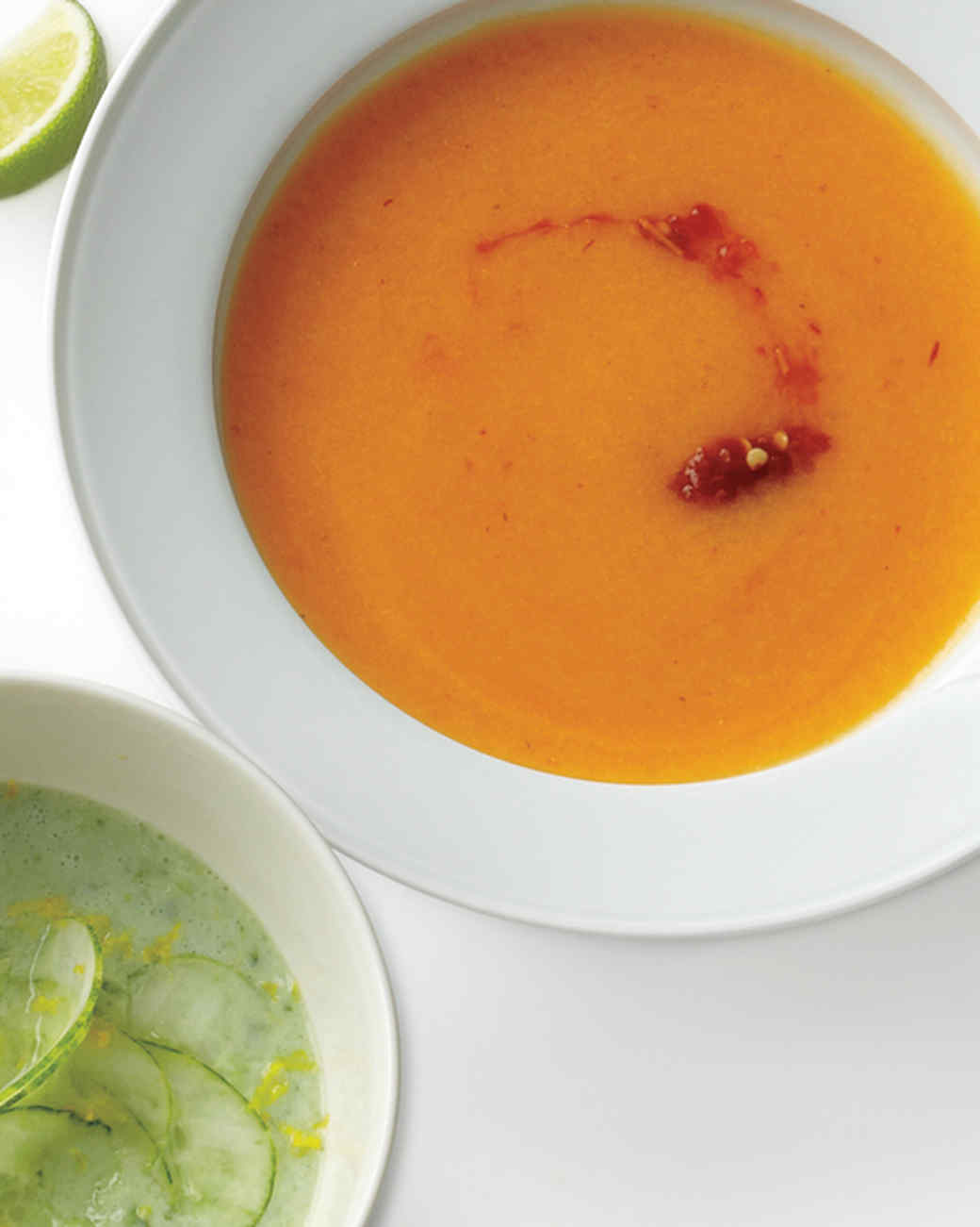Cantaloupe, Lime, and Chili Soup