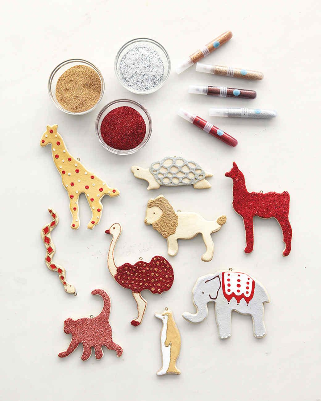 Salt-Dough Ornaments | Martha Stewart