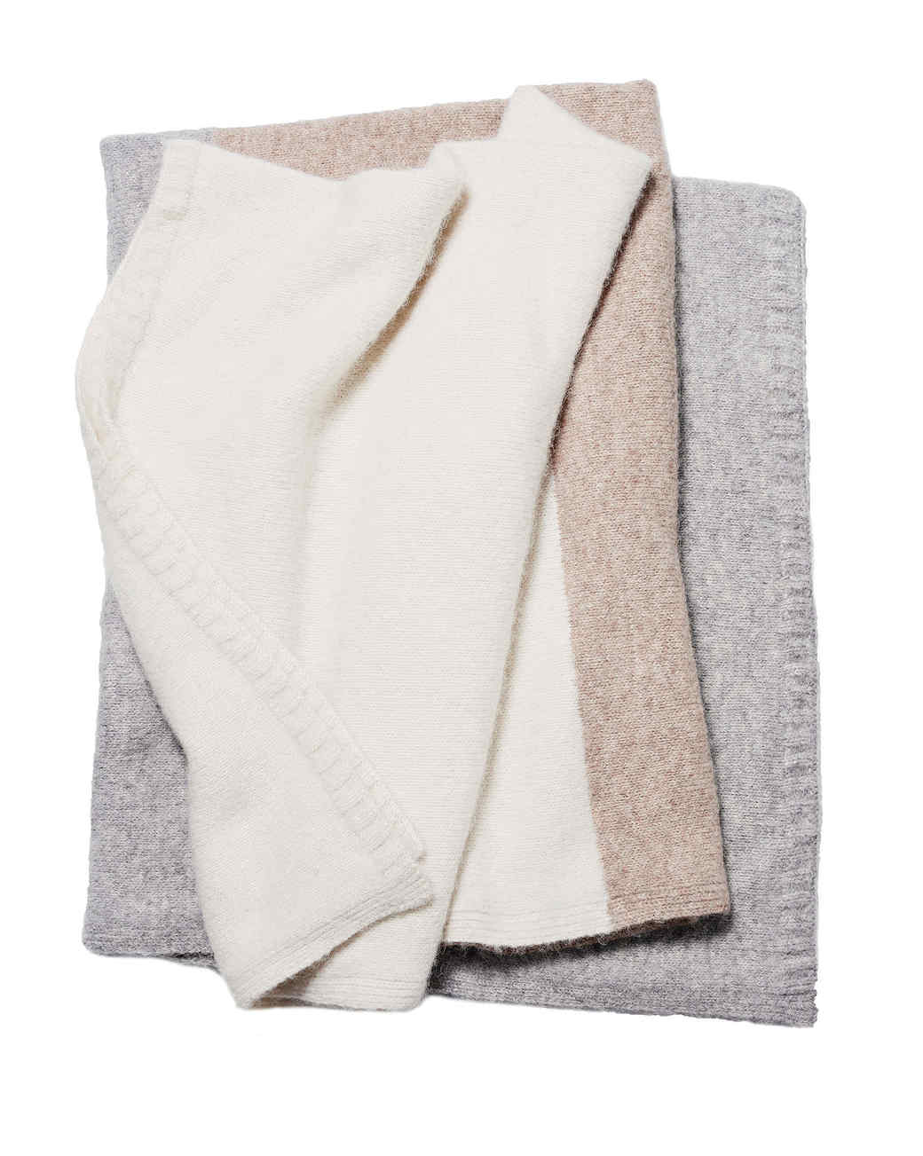 color blocked alpaca throw gift guide 2017 home