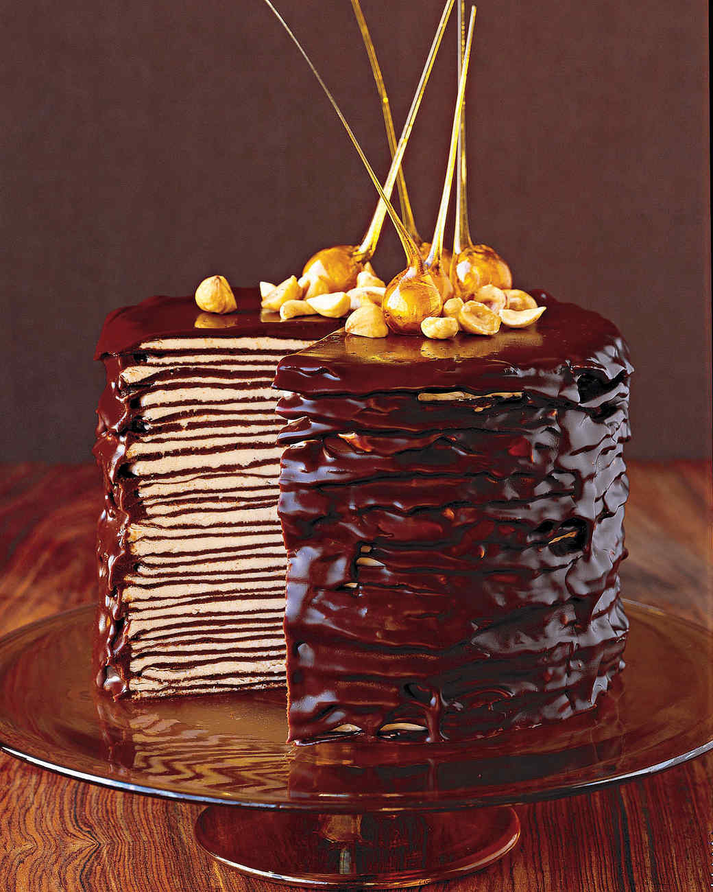 Darkest Chocolate Crepe Cake Nutella Hazelnut Spread With Cocoa 200gr