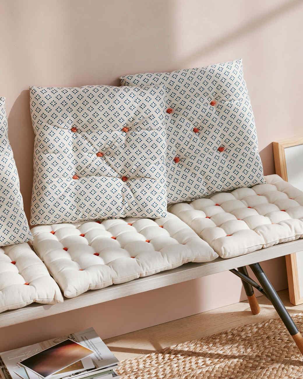 Knotted Seat Cushions | Martha Stewart