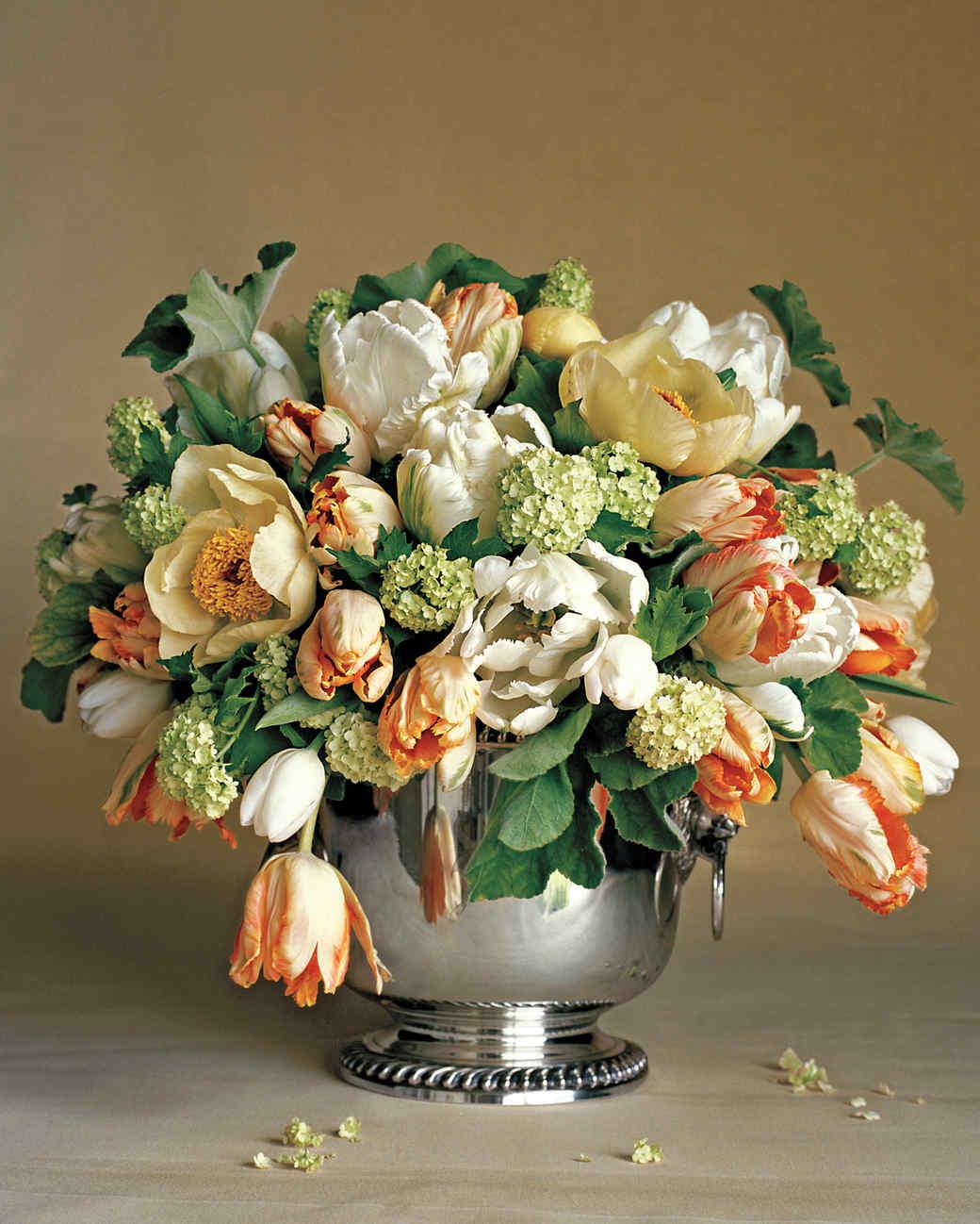 Flower Arrangement Pics tulip arrangements | martha stewart
