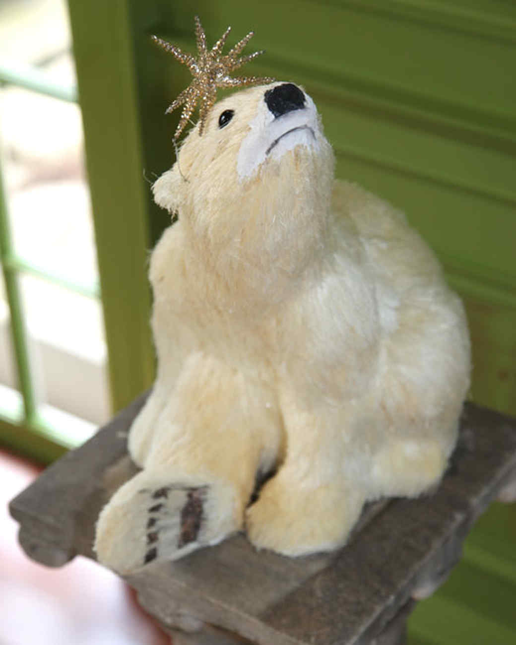 marthas holiday decorating ideas martha stewart - Outdoor Polar Bear Christmas Decorations