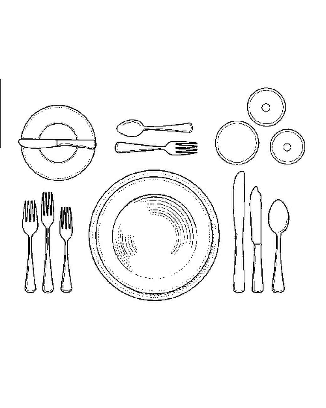 Dinner Table Setting Etiquette