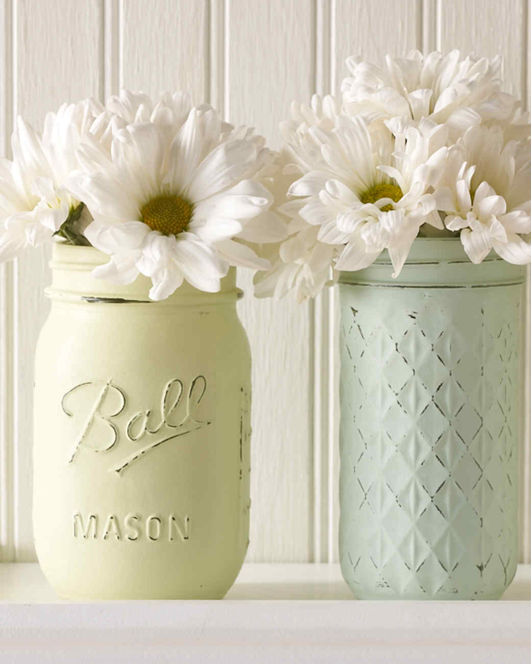 Mason Jars Turned Vintage-Decor Vases | Martha Stewart