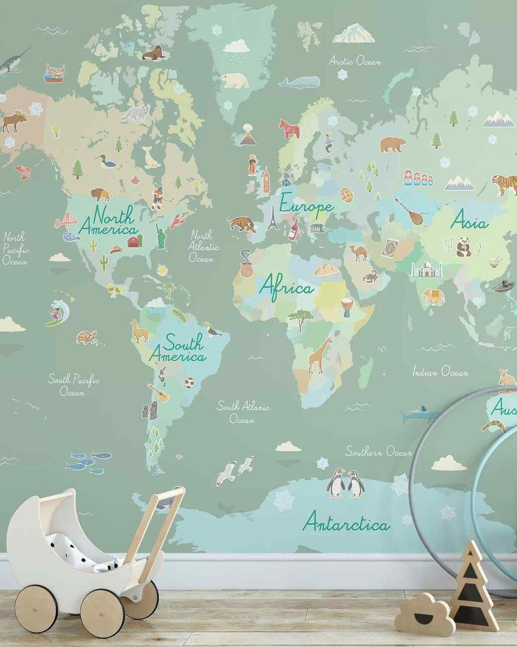 alloway world peel-and-stick wall mural