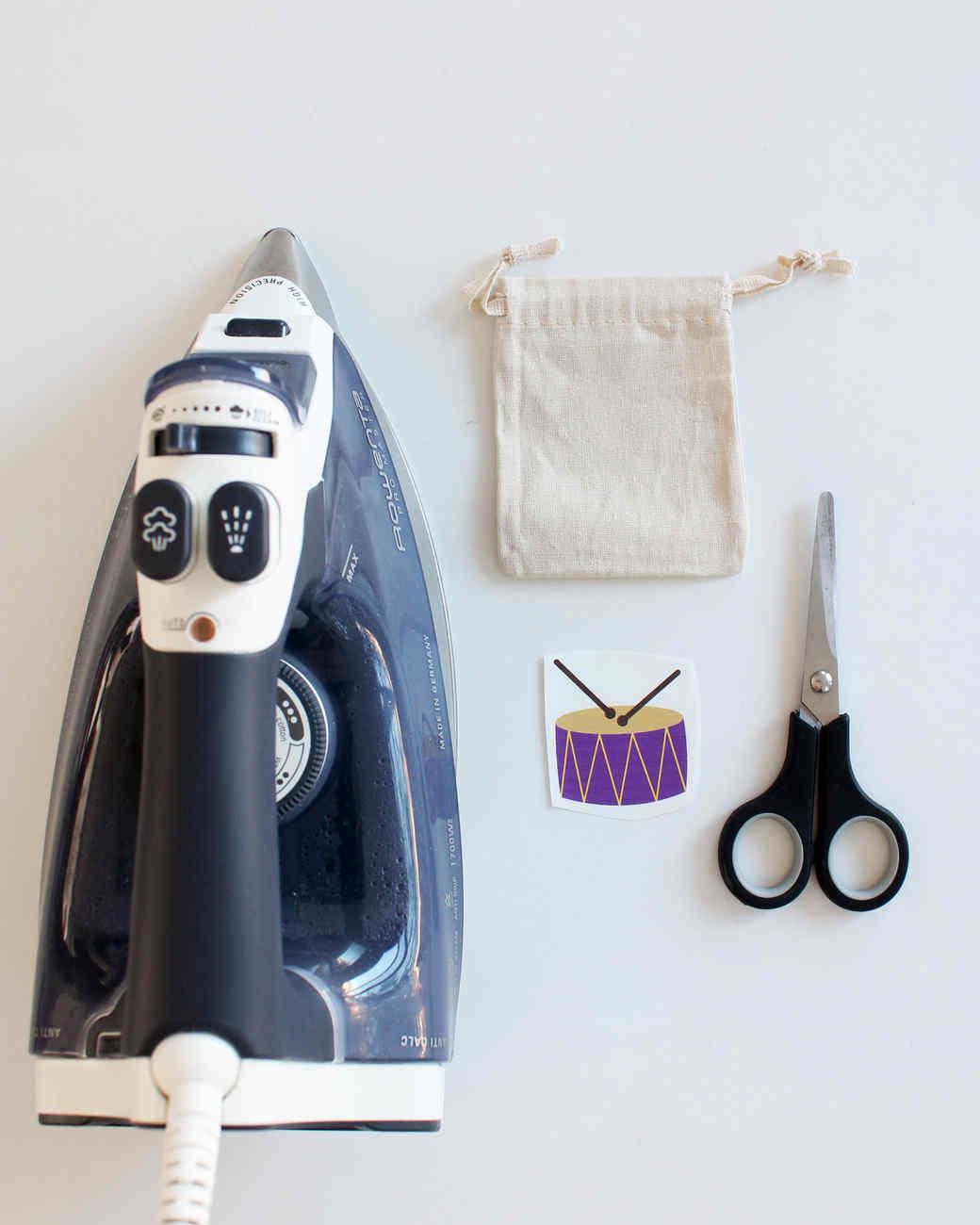 materials for Ramadan drummer treat bags