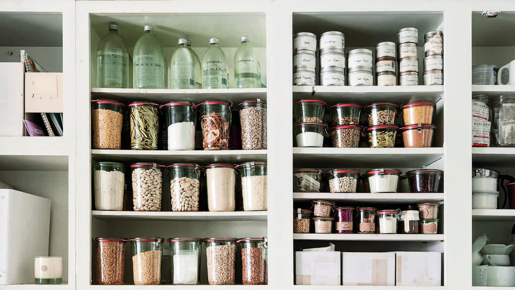 A pantry in Remodelista: The Organized Home""