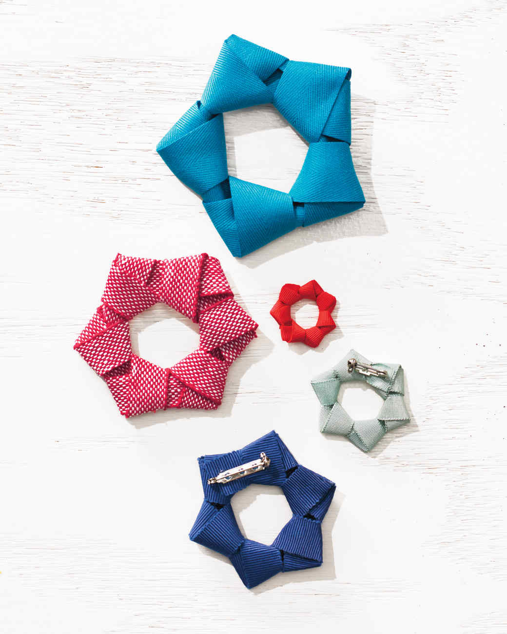 Star-Spangled Style: American Flag-Inspired Ribbon Pins