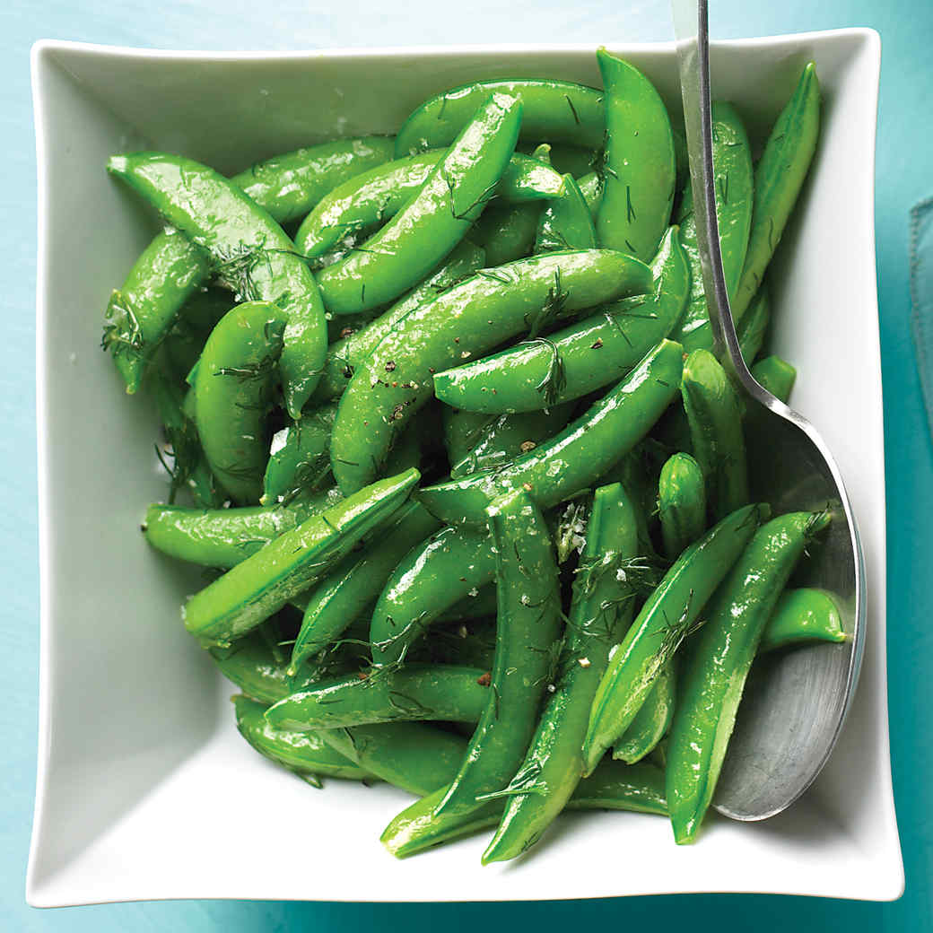 4ec308211 Snap Peas with Dill Butter