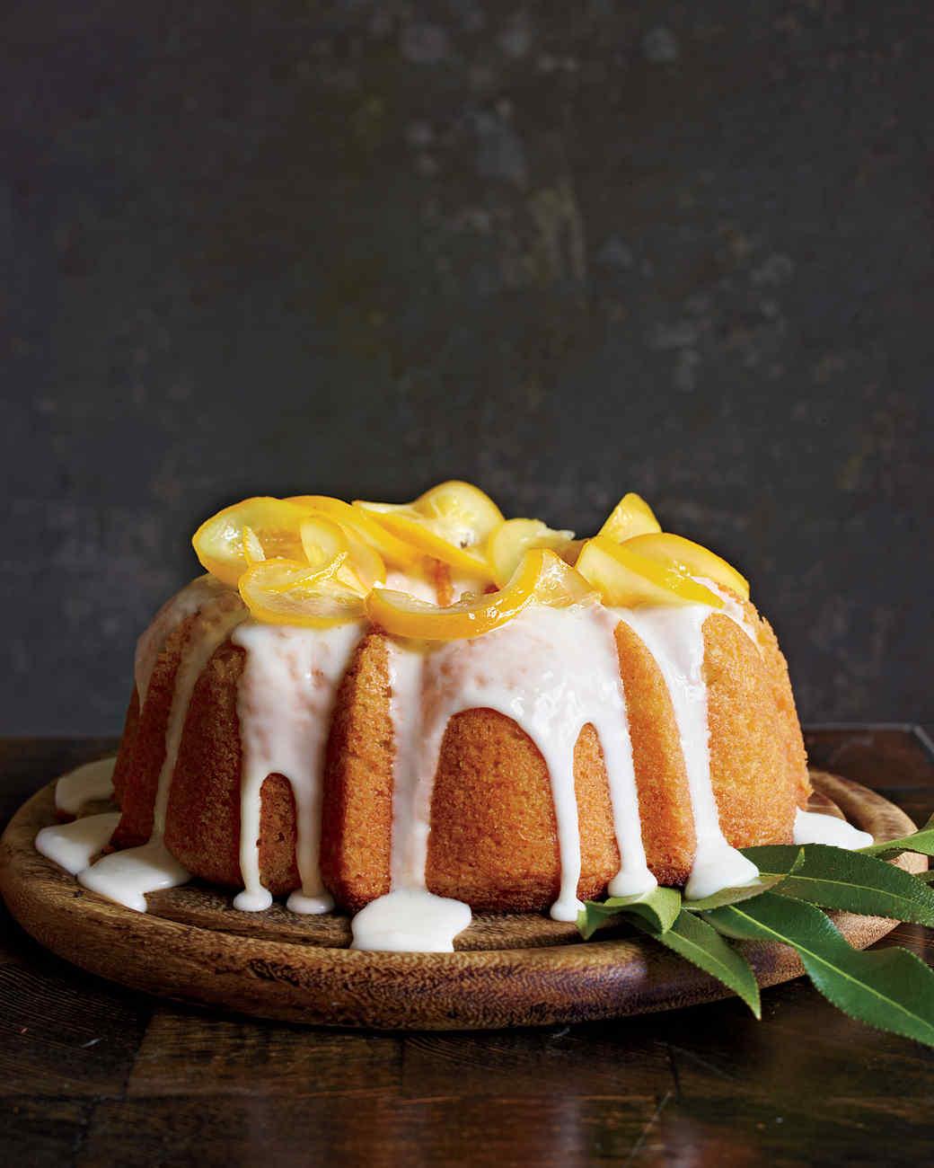 Meyer Lemon-Yogurt Cake