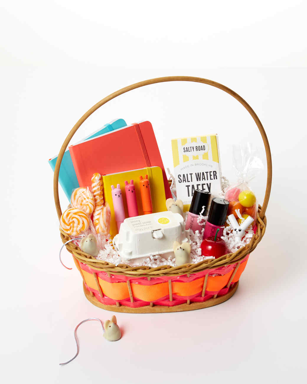 8 luxurious easter basket ideas for adults martha stewart 11 trendy easter basket ideas for teens negle Choice Image