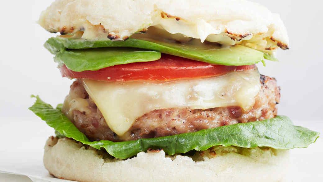 Turkey-Club Burger