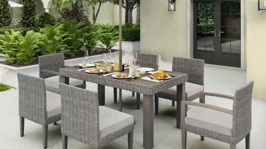 martha stewart outdoor dining set