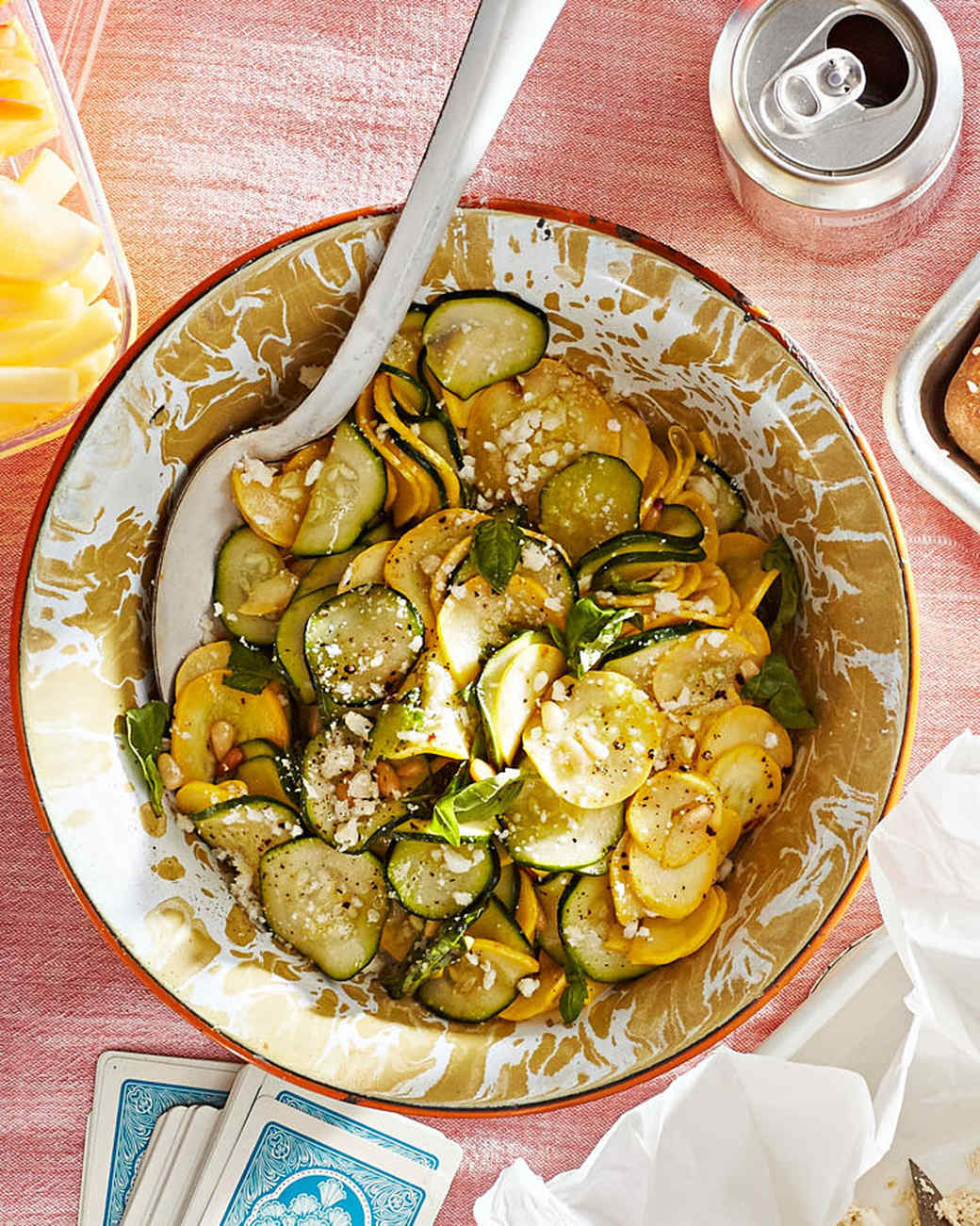 zucchini-and-squash salad