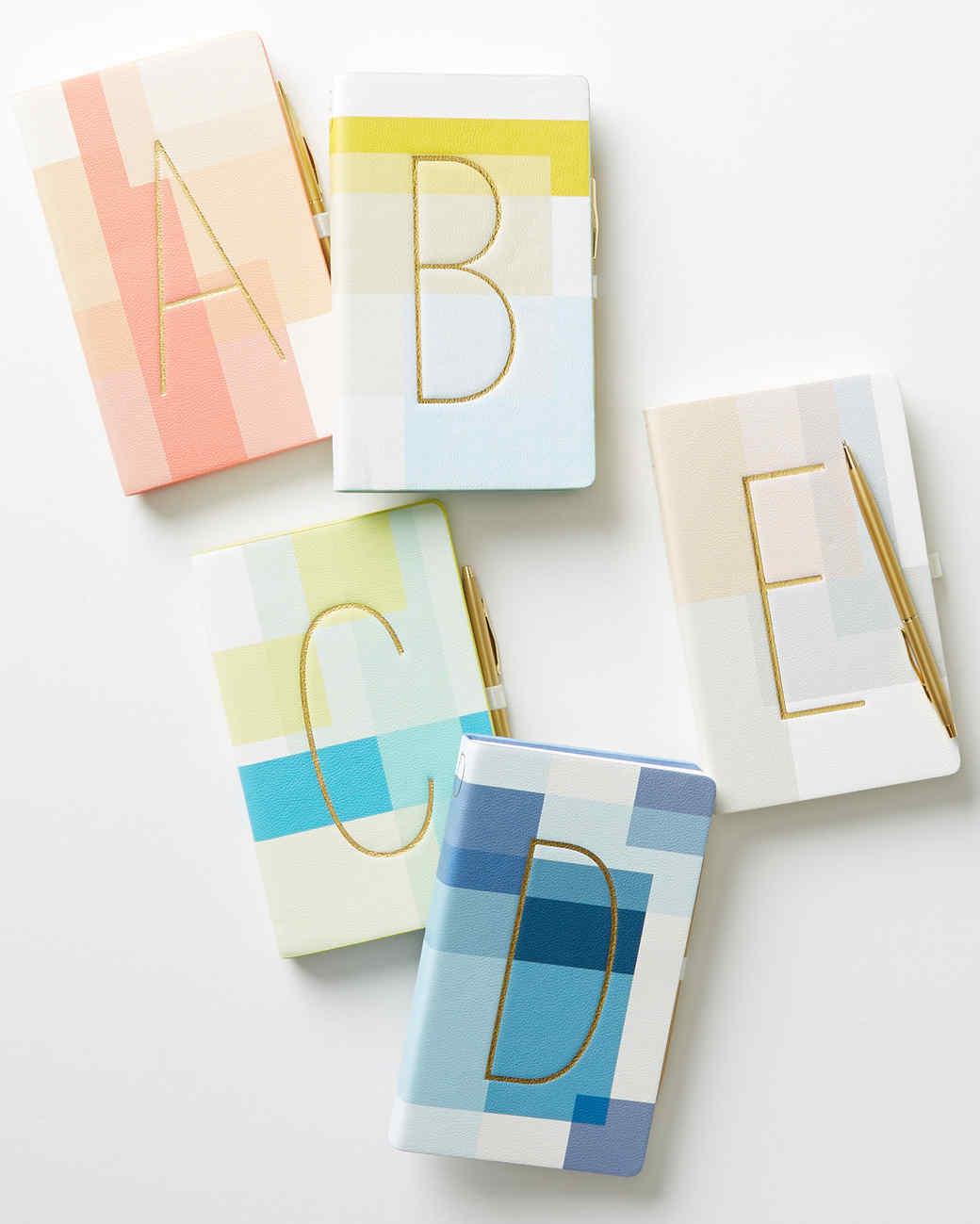 color block journals