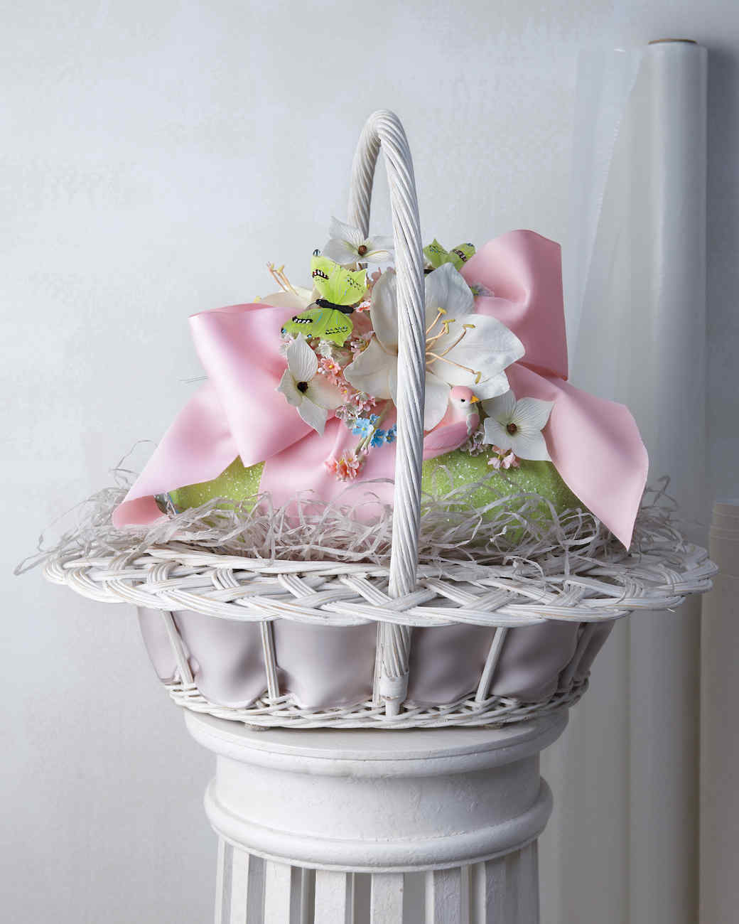 Marthas stunning easter basket creations martha stewart negle Choice Image