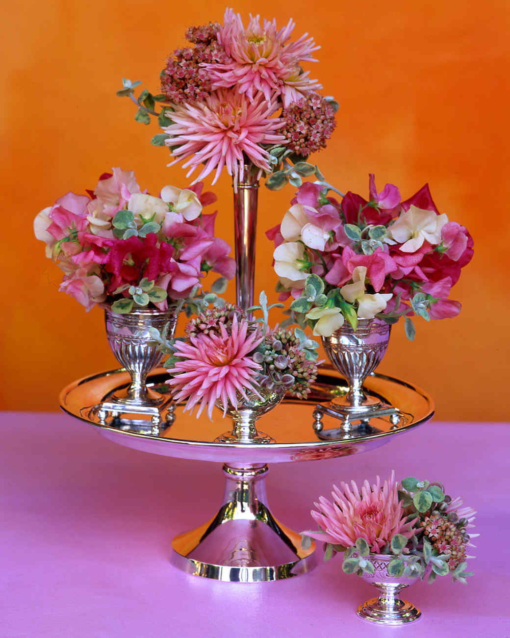 Pink flower arrangements martha stewart mightylinksfo Gallery