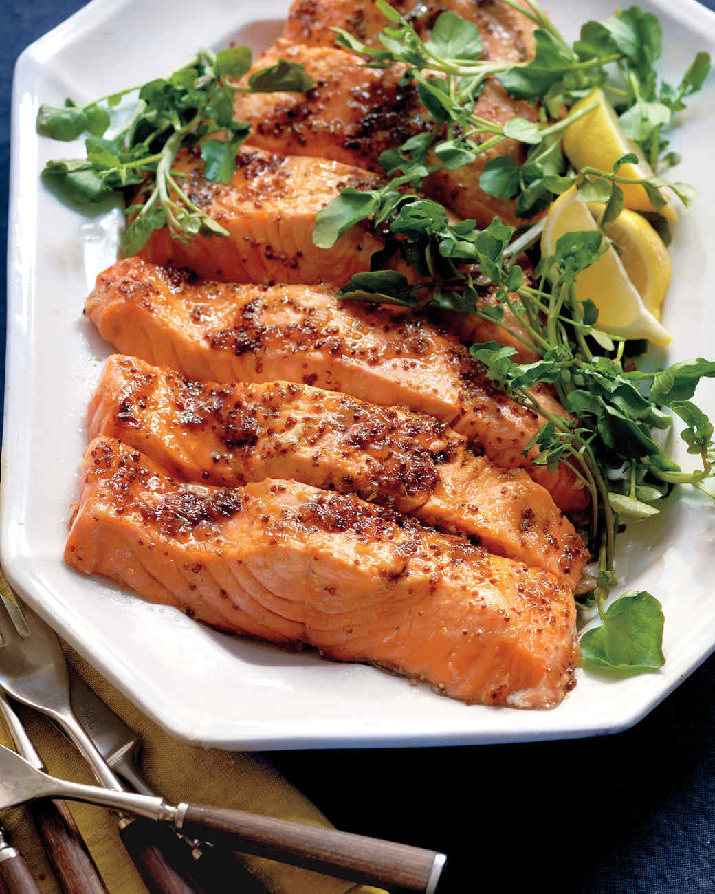 brown sugar glazed salmon